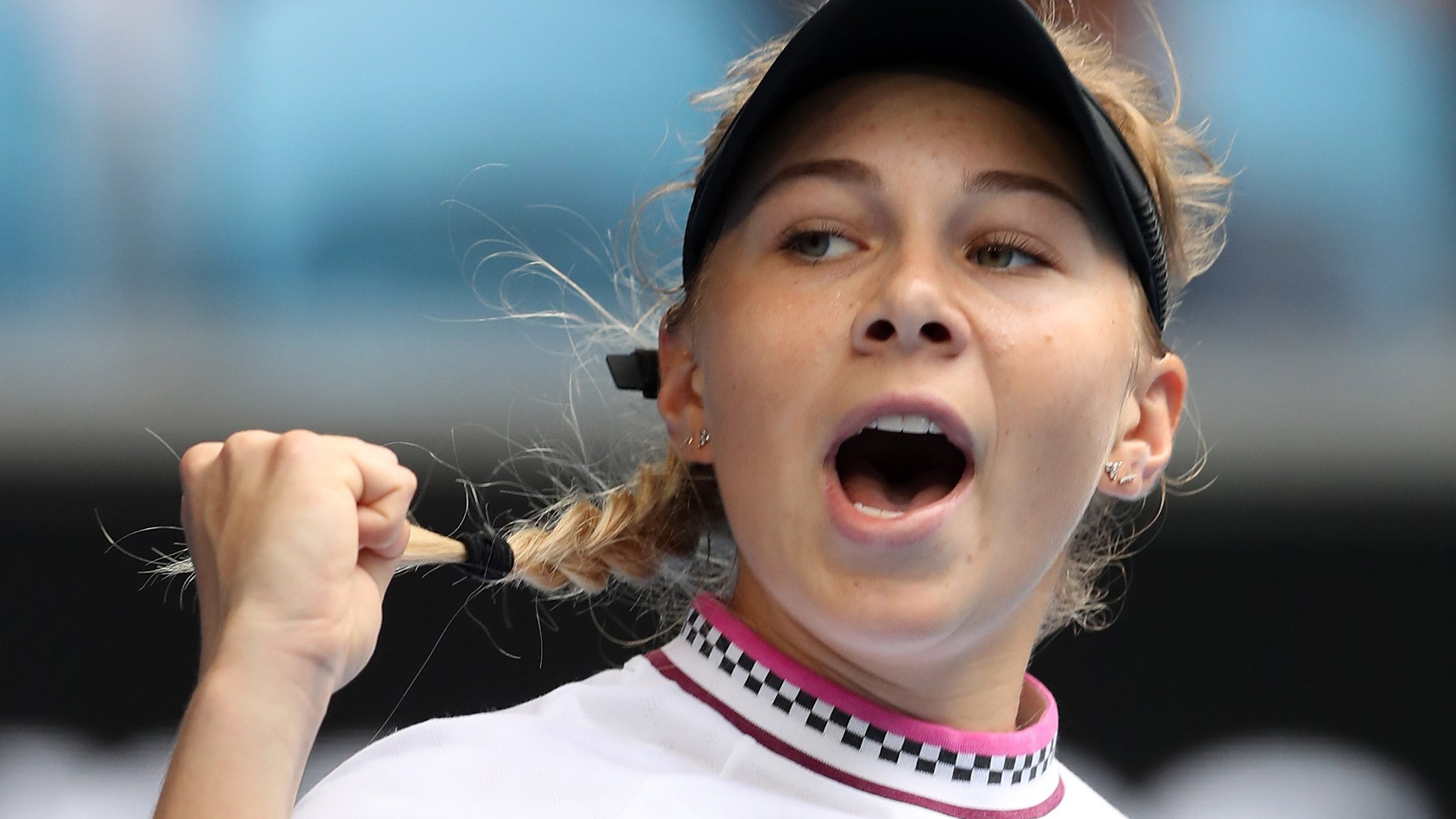 Teenager Anisimova upstages 11th seed Sabalenka