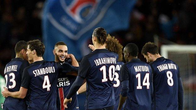 ไฮไลท์  Paris Saint Germain 4 - 1 Troyes