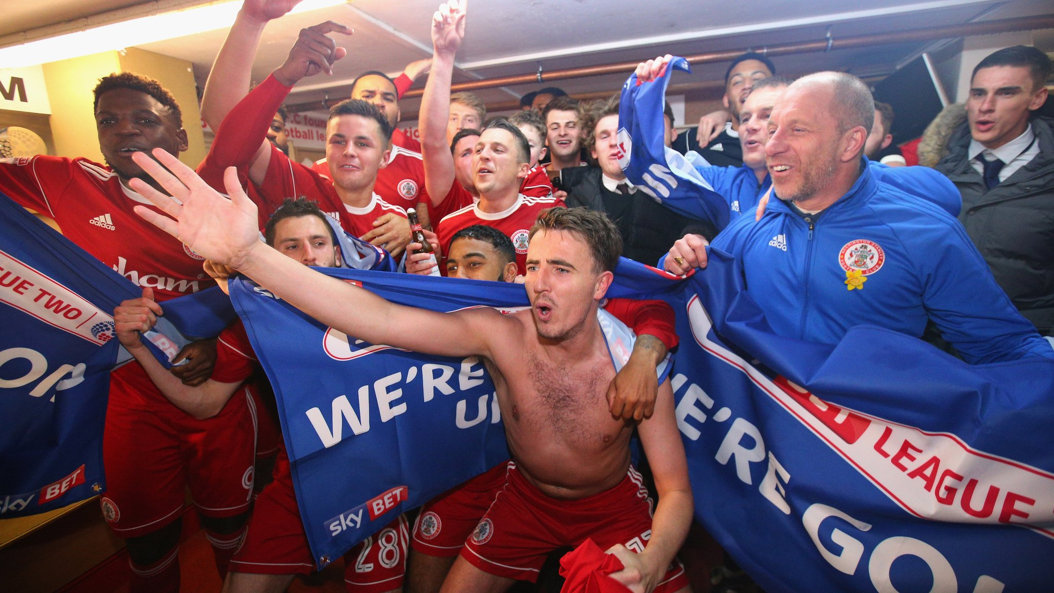 Famous for a milk advert? Not anymore - how 'minnows' Accrington conquered League Two