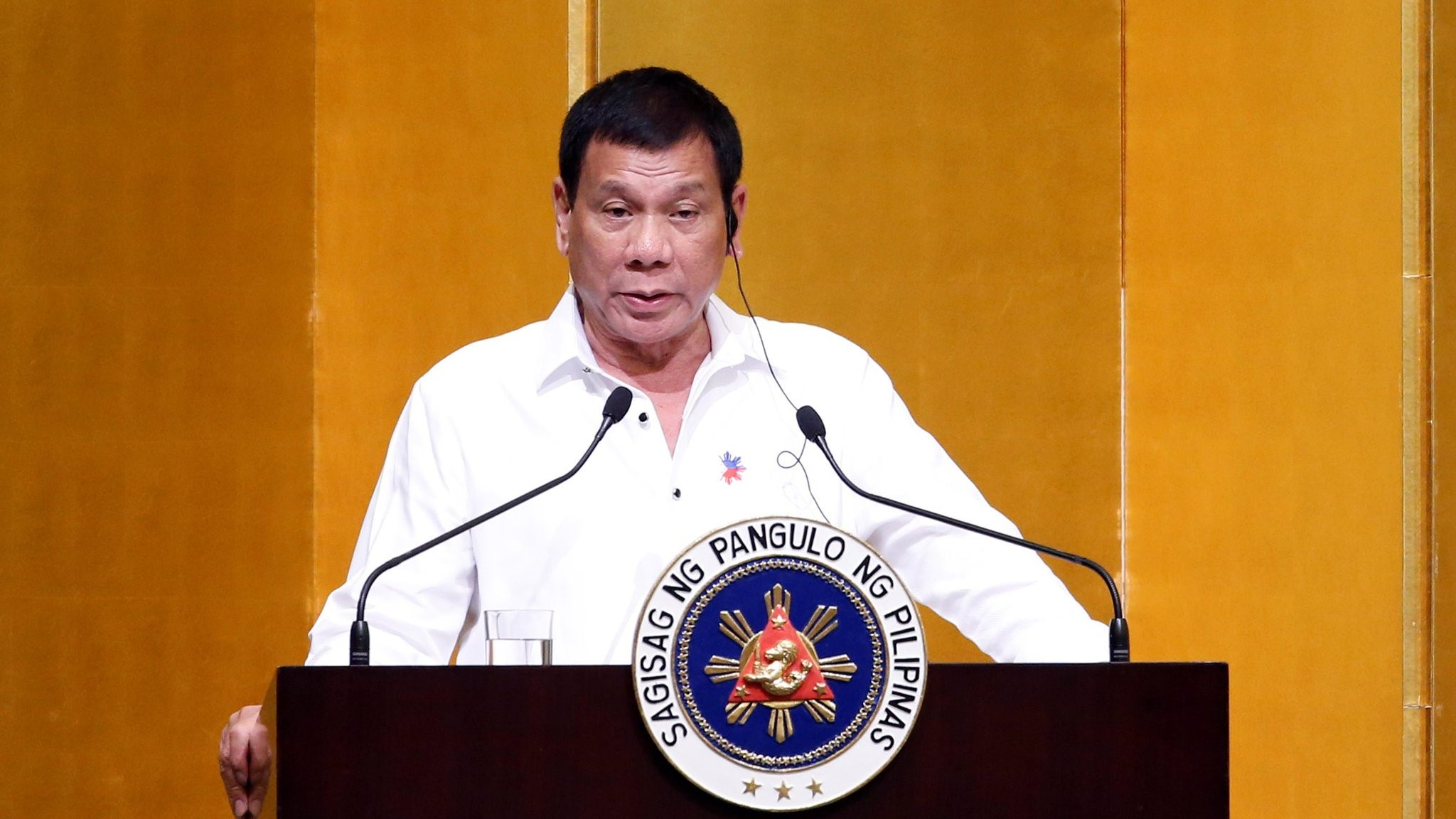 Philippines Duterte: God told me to stop swearing