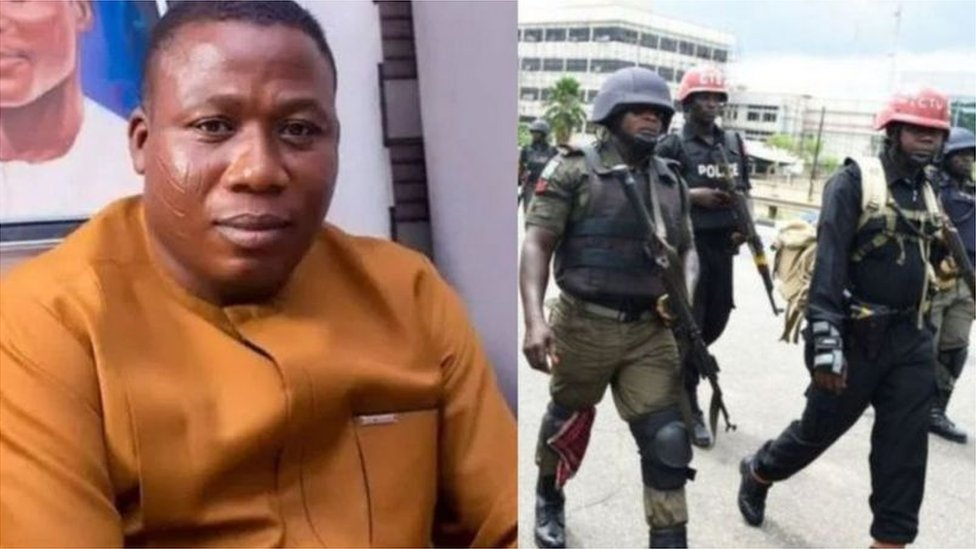 Sunday Igboho arrest: DSS bin try to arrest Sunday Igboho? See wetin we find out - BBC News Pidgin