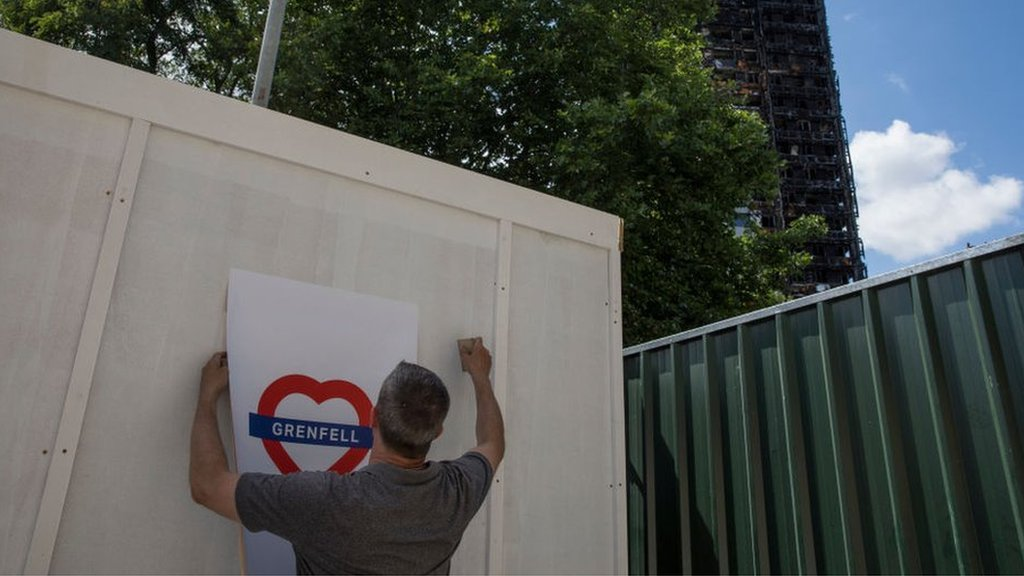 Grenfell Tower: Taskforce says 320 families are in hotels