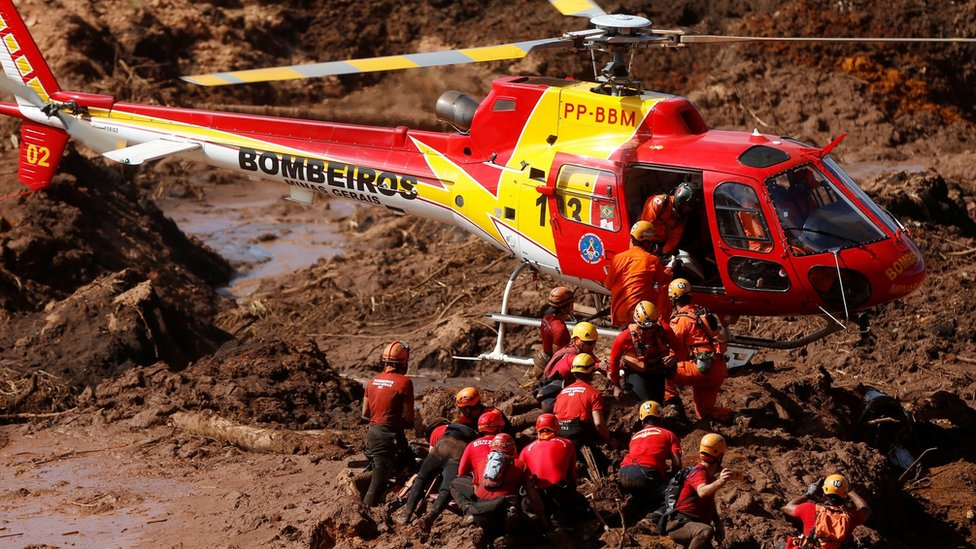 Brumadinho dam collapse: Eight arrests at Brazil's Vale