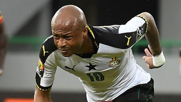Afcon 2017: Ghana make winning start against Uganda