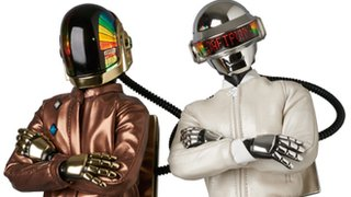 We really want these Daft Punk dolls