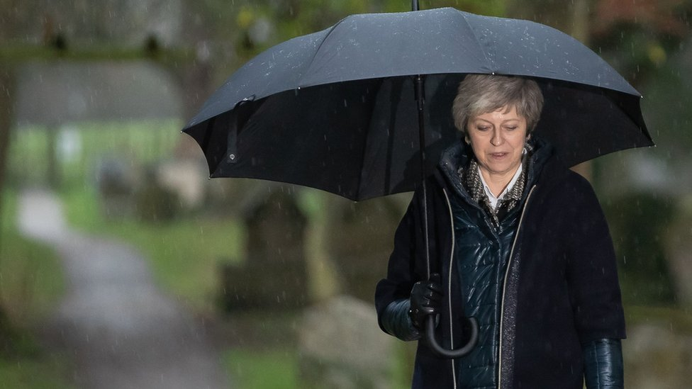 News Daily: May's Brexit push and Macron's crisis meetings