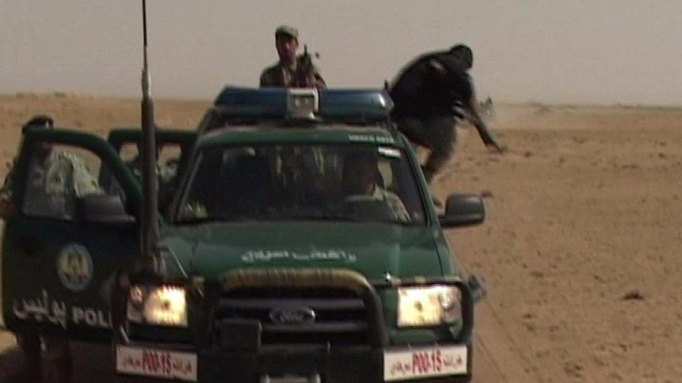 د افغان ځواکونو رنجرز ګاډي څه حال کې دي؟