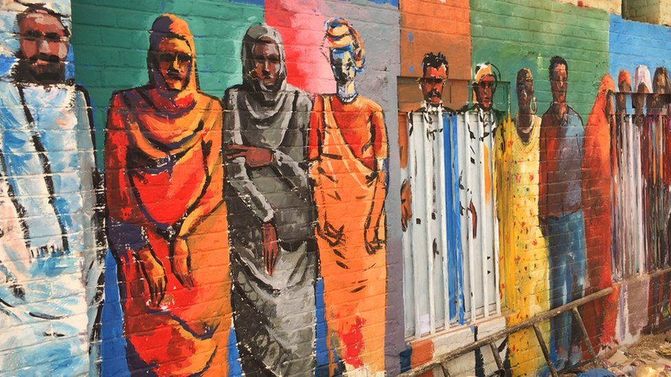 In pictures: The art fuelling Sudan's revolution