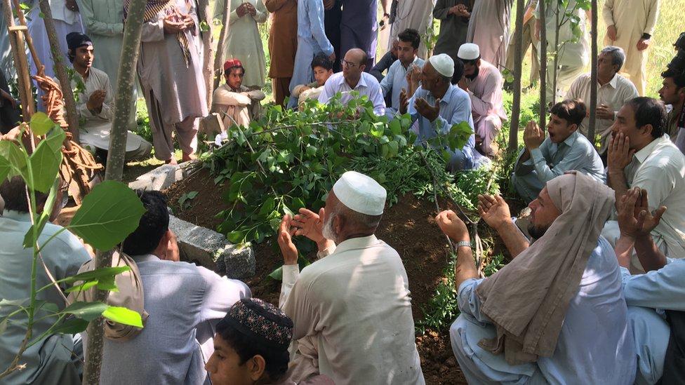 Funeral de Mashal Khan