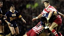 Andy Farrell and Adrian Morley