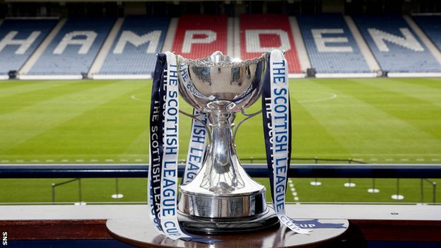 Scottish League Cup trophy