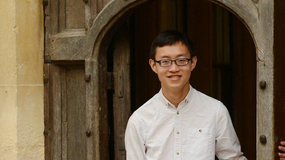 A Theophi Kwek, de Singapur, le gusta comprar libros del extranjero por internet. (Foto: cortesía Theophi Kwek)