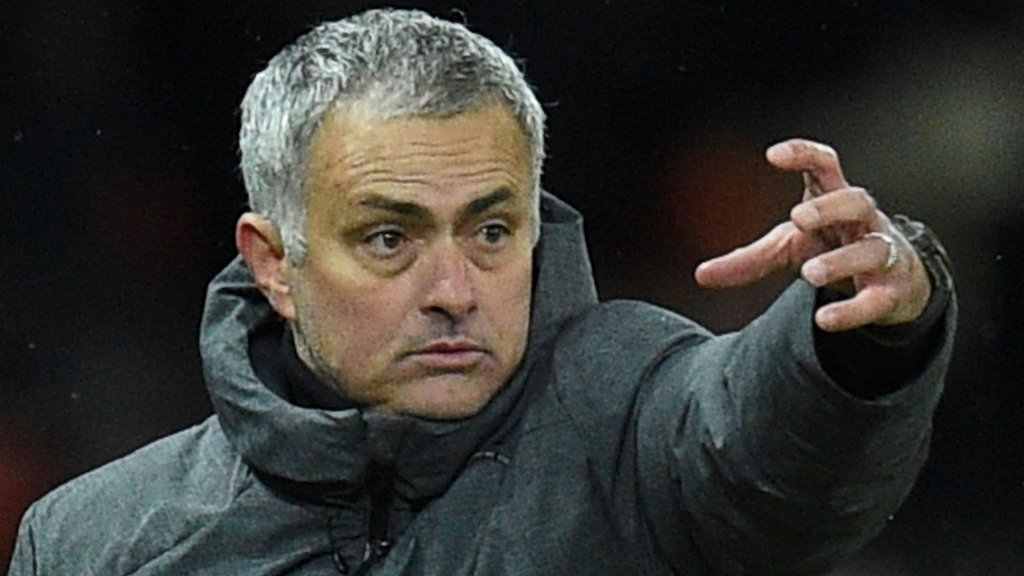 Milk thrown at Mourinho in derby row