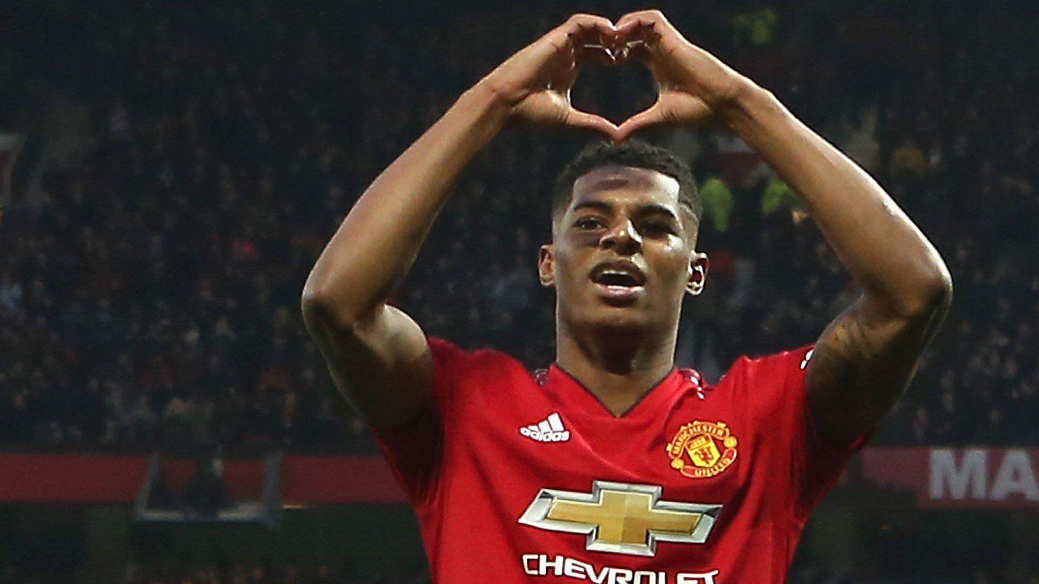 Manchester United 2-1 Brighton: Rashford's 'calm, assured' finishing praised by Solskjaer