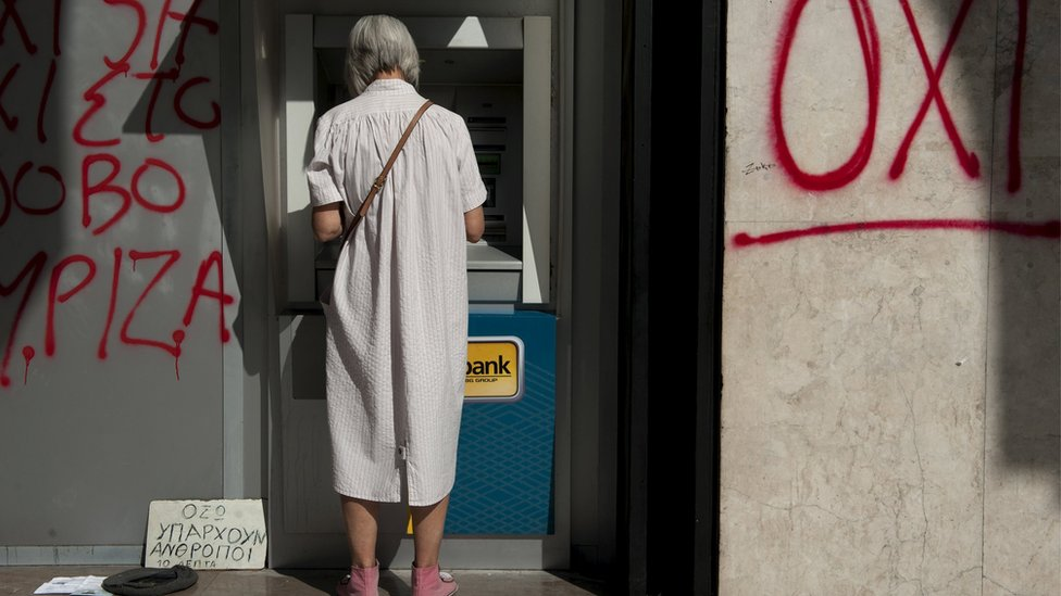 "A ""No"" vote in the Greek referendum on bailout terms will not provide Greece with an easy way out of its economic crisis, a key eurozone official says."