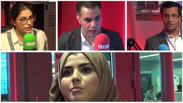 افراطگرایی اسلامی دربریتانیا در بحث با جوانان افغان در لندن