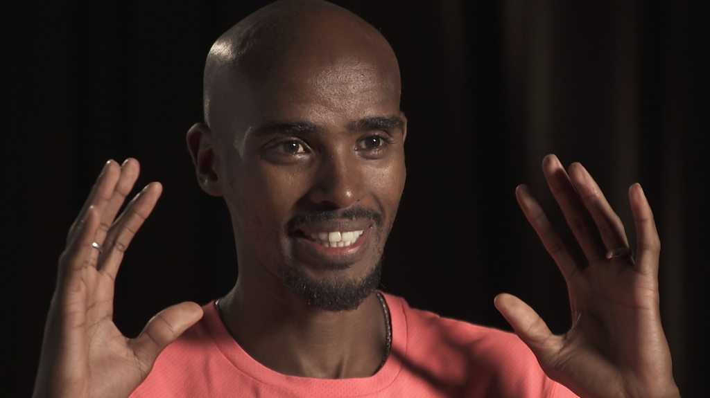 Mo Farah talks about ending his track career to focus on road running
