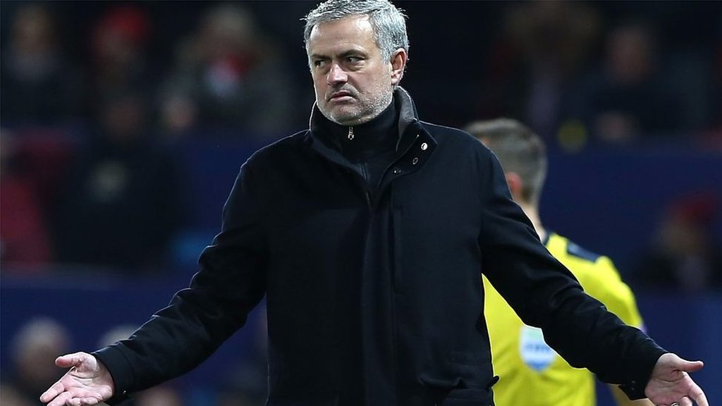 Jose Mourinho: Champions League exit 'nothing new' for Man Utd