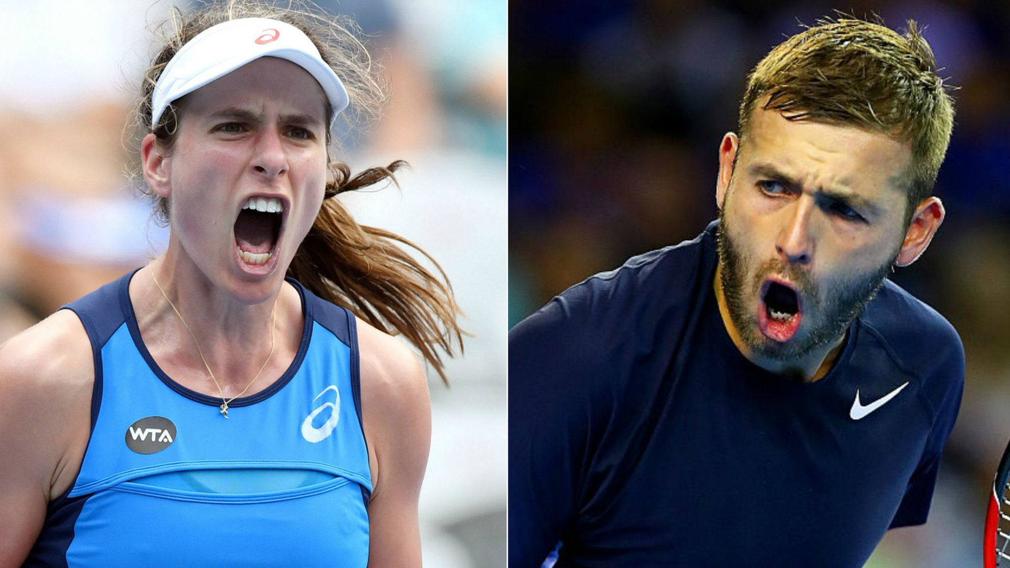 Sydney International: Johanna Konta into semi-finals & Dan Evans reaches third round