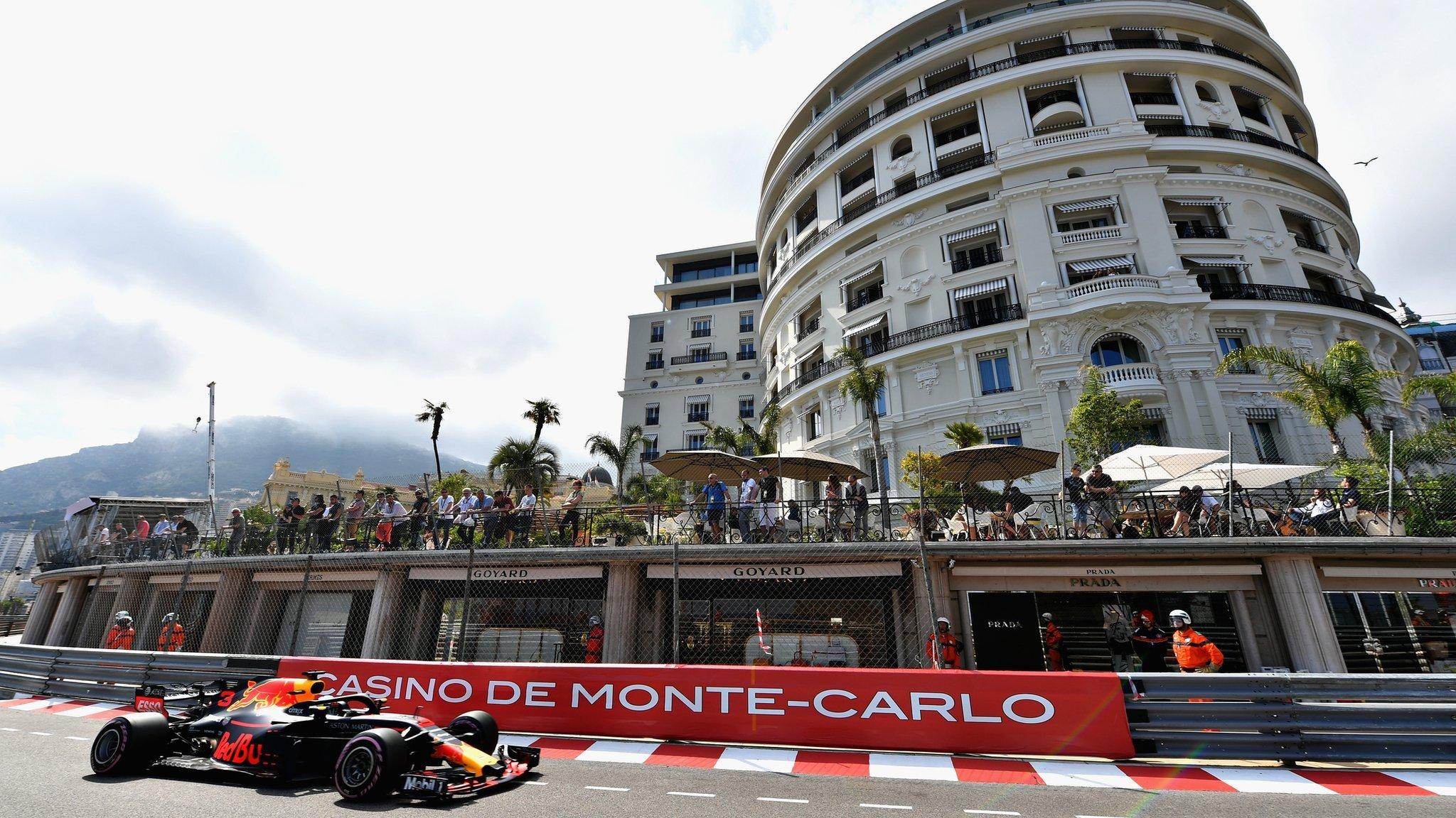 Ricciardo quickest in Monaco practice as Red Bull dominate