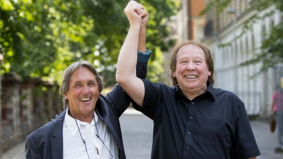 BBC News - Ex-Tremeloes Leonard Hawkes and Richard Westwood acquitted of assault