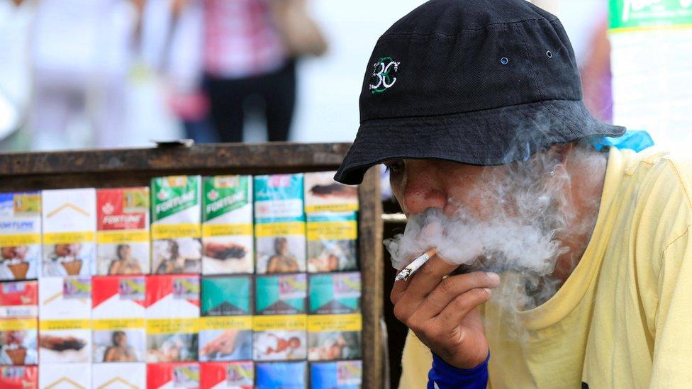 Merokok di tempat umum