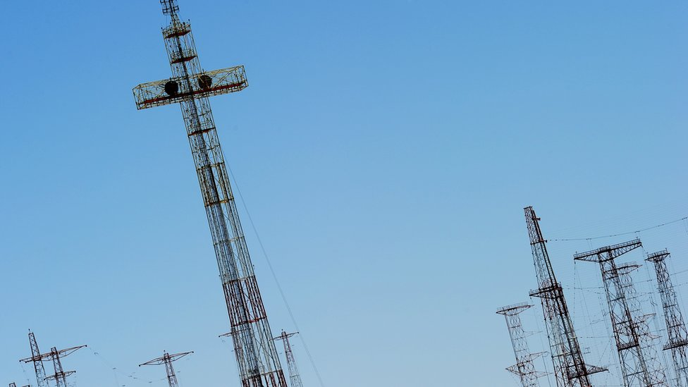 Vatican Radio masts