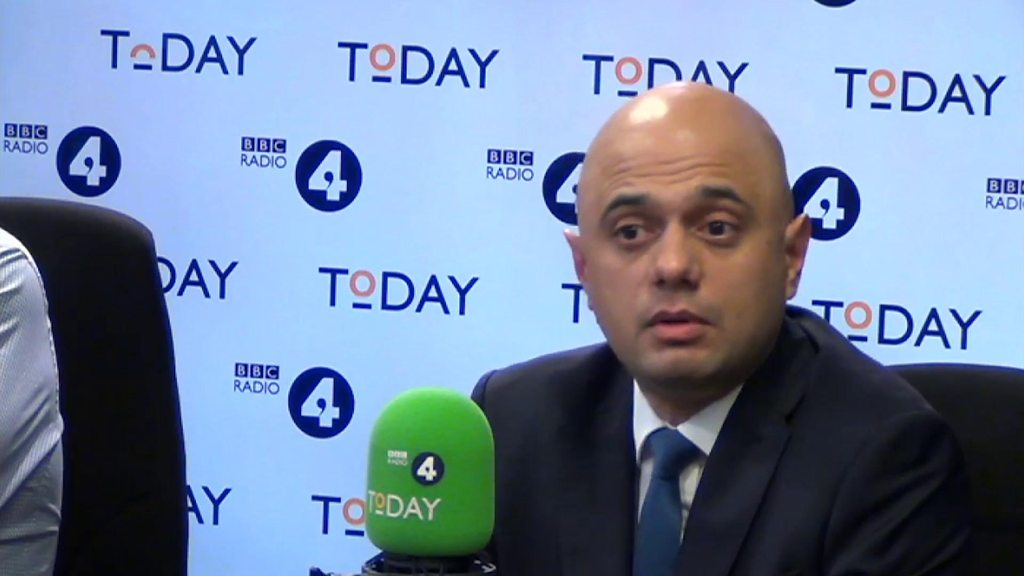 Javid: I don't like not being invited to Trump dinner