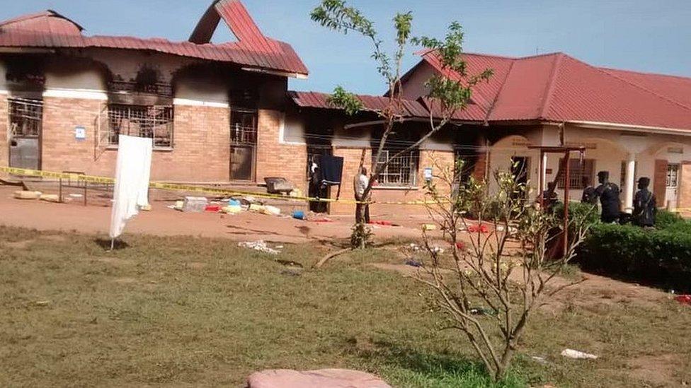 Uganda school fire: Three in custody after nine die in dormitory