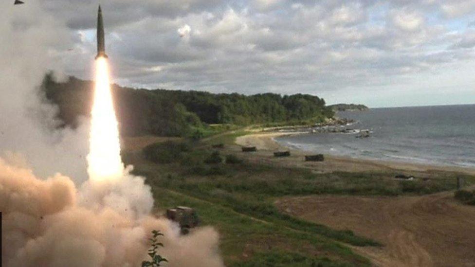 كوريا الجنوبية أجرت تجارب إطلاق صاروخية ردا على الجارة الشمالية