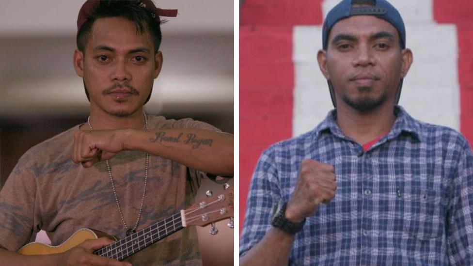 We were child killers, now we unite through hip-hop