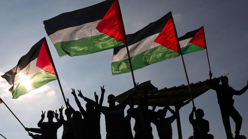 Warga Palestina