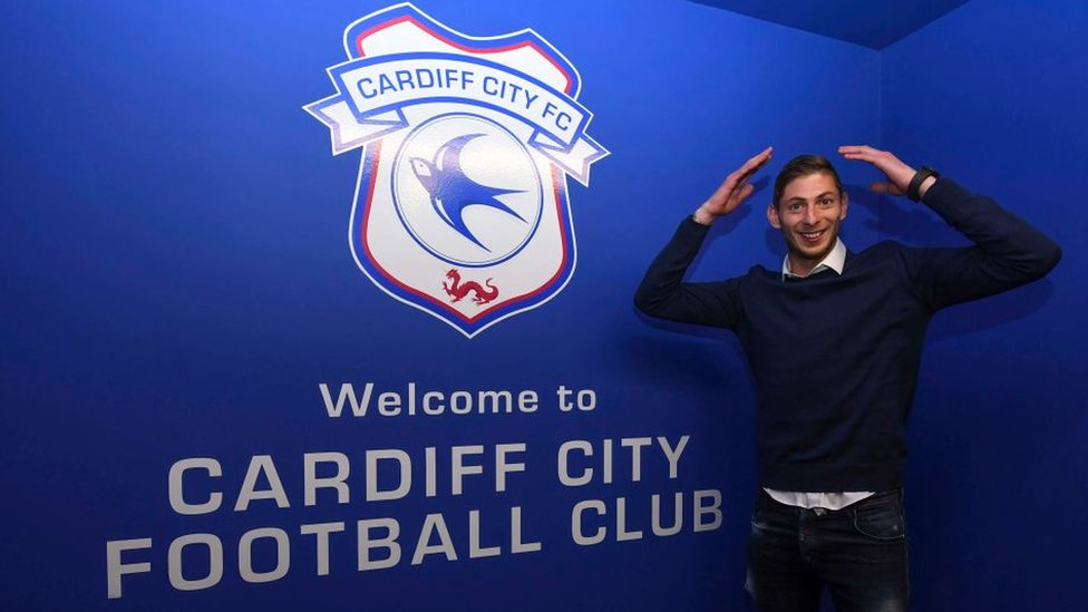 Emiliano Sala: 'No hope' for missing Cardiff City player