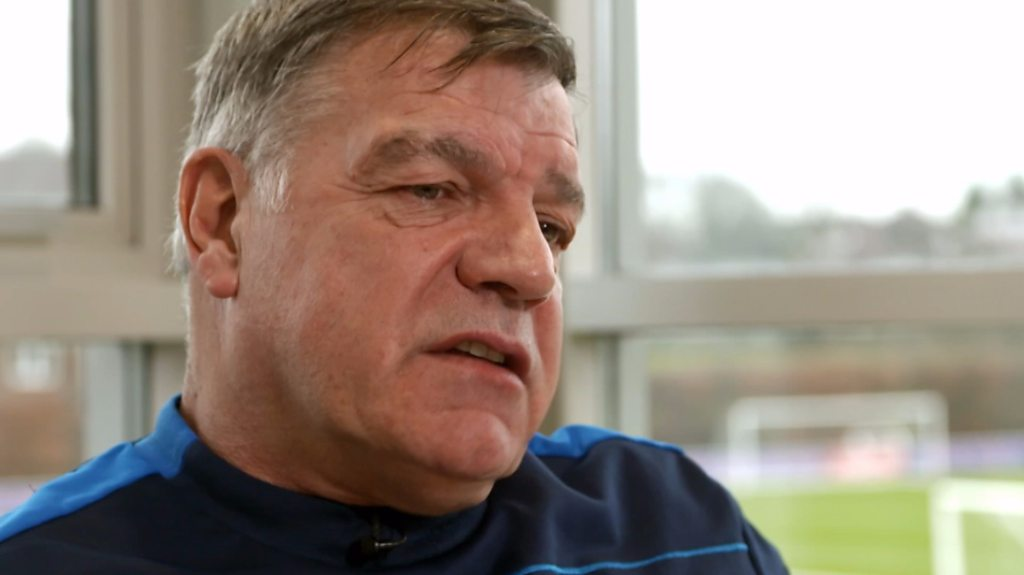 Sam Allardyce: I had to get over England job disappointment