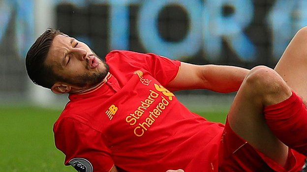Adam Lallana: Liverpool attacker out of England World Cup qualifiers