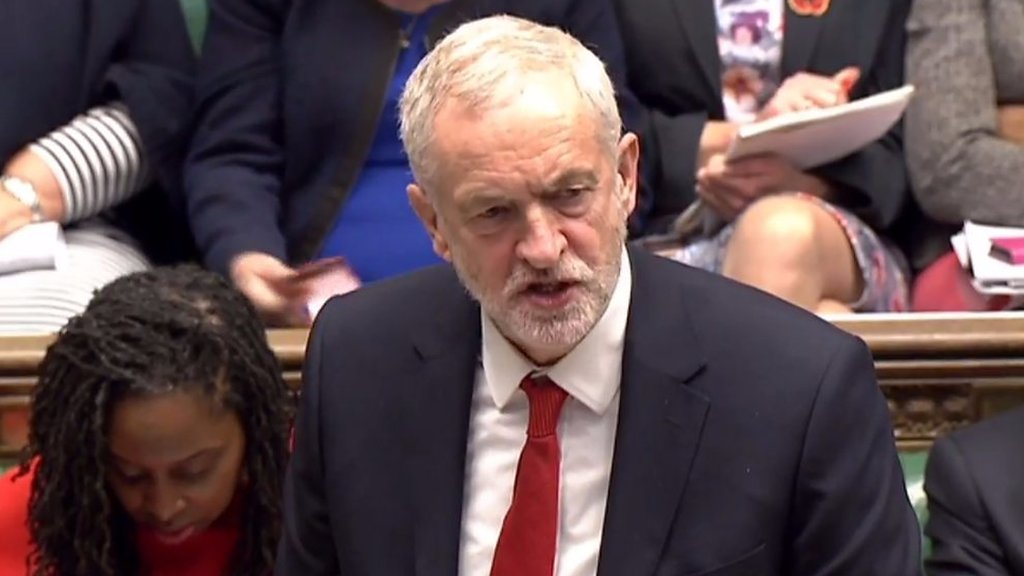 Jeremy Corbyn criticises Hammond's Budget
