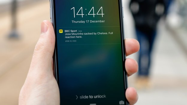BBC Sport alerts