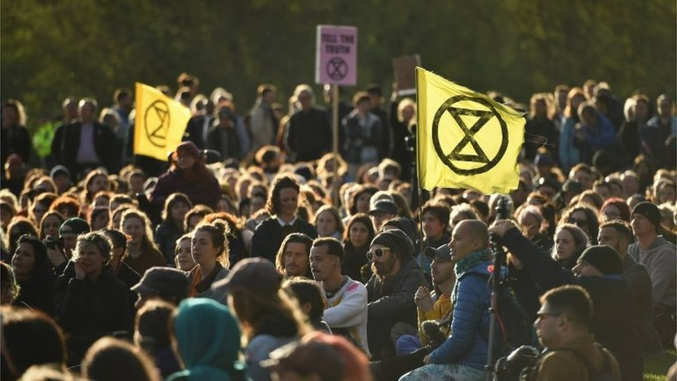 Extinction Rebellion activists end London protests