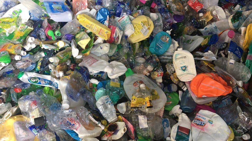 bottle waste