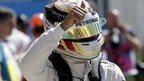 Hamilton on pole position at Monza