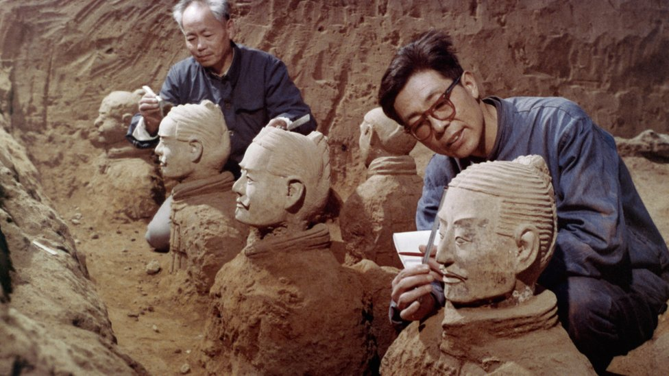 Zhao Kangmin: The man who 'discovered' China's terracotta army