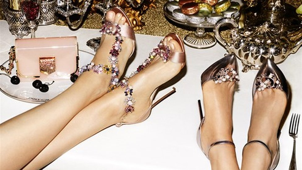 Jimmy Choo seeks well-heeled buyer