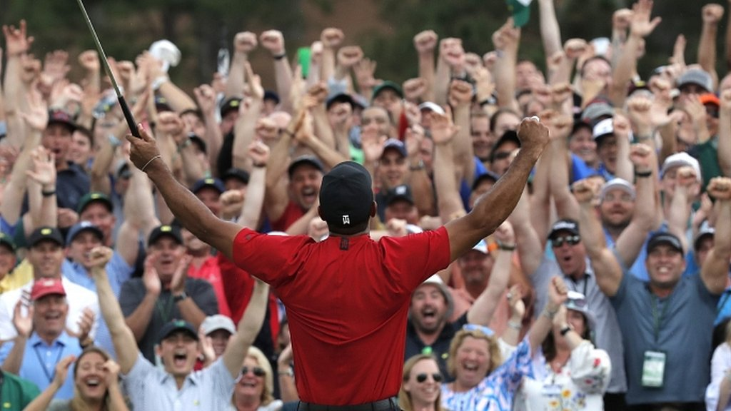 'Riding the Tiger Mania wave in Augusta - what it was like to follow Woods at the Masters'