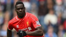 Liverpool striker Mario Balotelli
