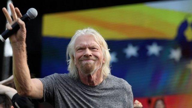 """¿Por qué el multimillonario Richard Branson organizó """"Venezuela Aid Live ..."""