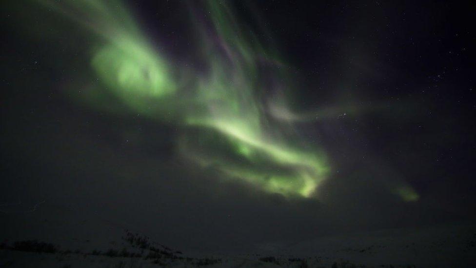 En esta región se puede disfrutar del espectáculo de las auroras boreales.