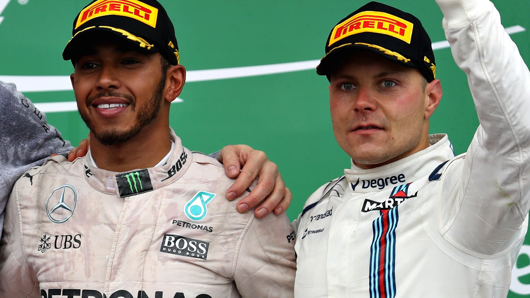 Lewis Hamilton: Mercedes driver backs new team-mate Valtteri Bottas