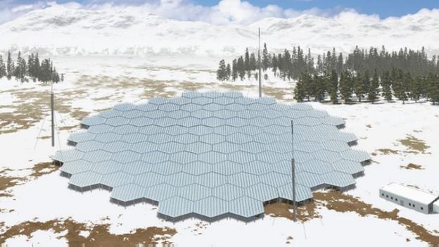 Arctic radar to probe 'space weather'