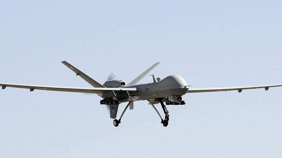 UK plans for drone 'swarm squadrons'