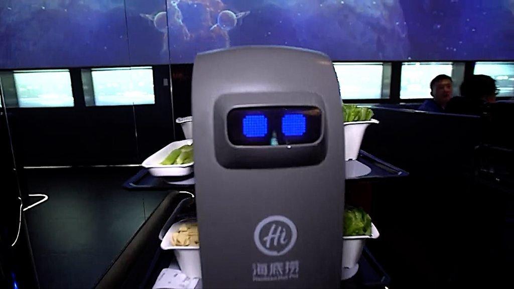 Haidilao: Robots staff China's top hotpot chain